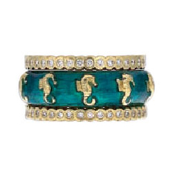Hidalgo Stackable Rings Sea Life Collection Set  (7-563 & 7-563G)