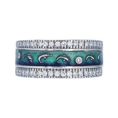 Hidalgo Stackable Rings Sea Life Collection Set  (7-565 & 7-565G)