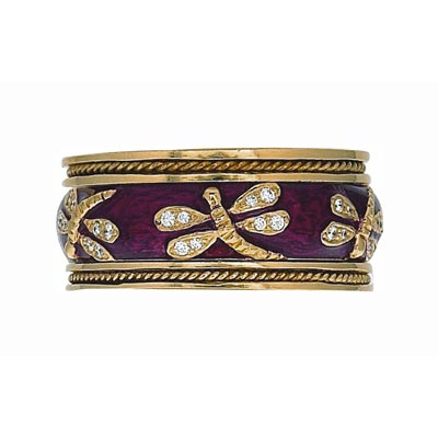 Hidalgo Stackable Rings Garden Life Collection Set  (7-573 & 7-573G)