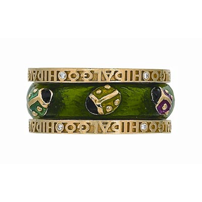 Hidalgo Stackable Rings Garden Life Collection Set  (7-575 & 7-575G)