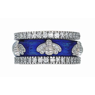 Hidalgo Stackable Rings Garden Life Collection Set  (7-576 & 7-576G)