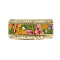 Hidalgo Stackable Rings Garden Life Collection Set  (7-577 & 7-577G)