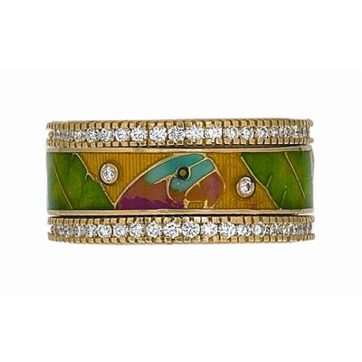 Hidalgo Stackable Rings Aviary Collection Set  (7-585 & 7-585G)