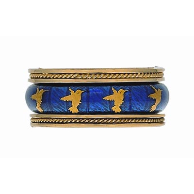 Hidalgo Stackable Rings Aviary Collection Set  (7-589 & 7-589G)
