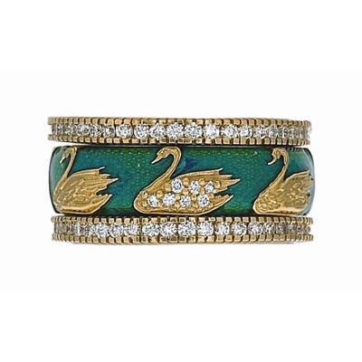 Hidalgo Stackable Rings Aviary Collection Set  (7-590 & 7-590G)