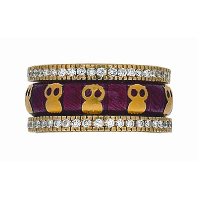 Hidalgo Stackable Rings Aviary Collection Set  (7-592 & 7-592G)