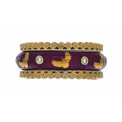 Hidalgo Stackable Rings Aviary Collection Set  (7-594 & 7-594G)