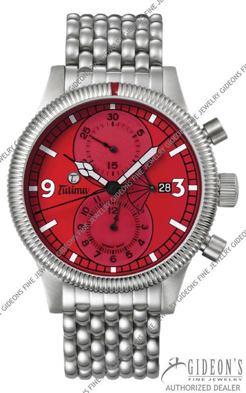 Tutima Grand Classic Chronograph PR Automatic Limited 781-28