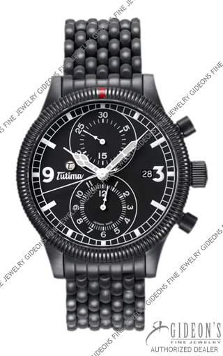 Tutima Grand Classic Chronograph PVD Automatic 781-32