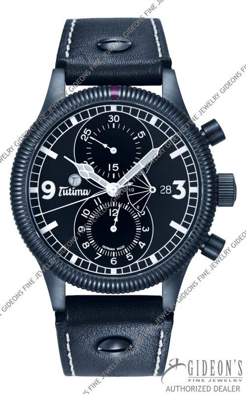 Tutima Grand Classic Chrono Black Automatic 781-41