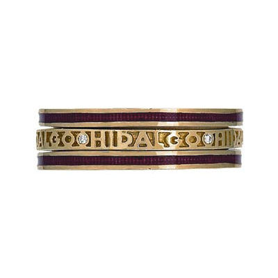 Hidalgo Stackable Rings Personalized Collection Set (RS7914 & RB5021)