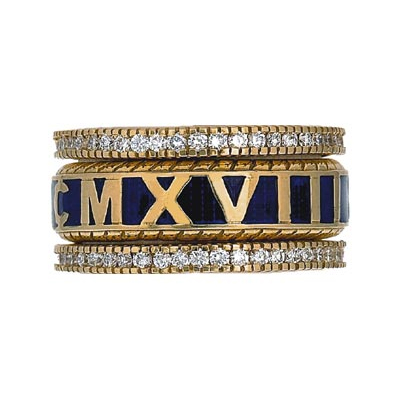 Hidalgo Stackable Rings Personalized Collection Set (RS7727 & RB480)