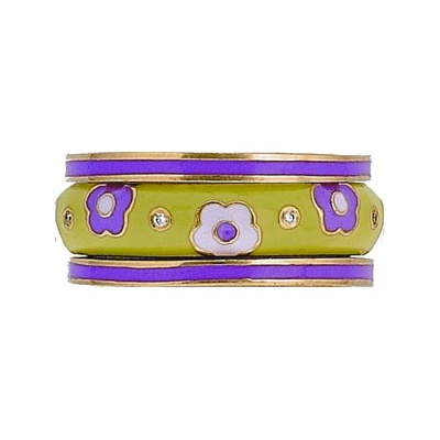 Hidalgo Stackable Rings Pastel Collection Set (RS7756 & RB5021)