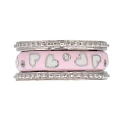 Hidalgo Stackable Rings Pastel Collection Set (RS7755 & RS7950)