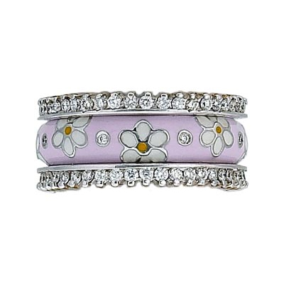 Hidalgo Stackable Rings Pastel Collection Set (RS7755 & RR1359)