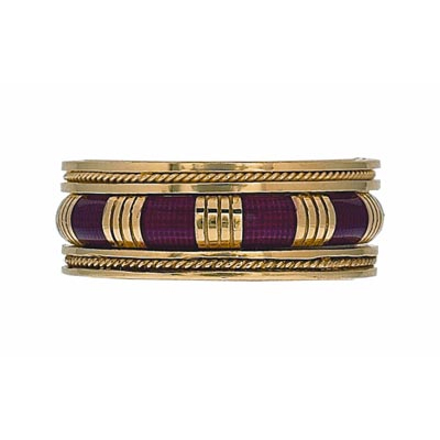 Hidalgo Stackable Rings Art Deco Collection Set (RG2005 & RB452)