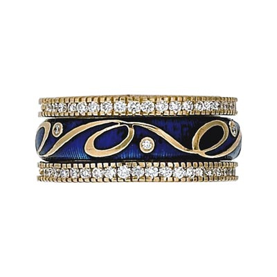 Hidalgo Stackable Rings Scrolls Collection Set (RS7739 & RB480)