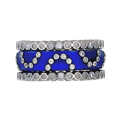 Hidalgo Stackable Rings Scrolls Collection Set (RS7941 & RB480)