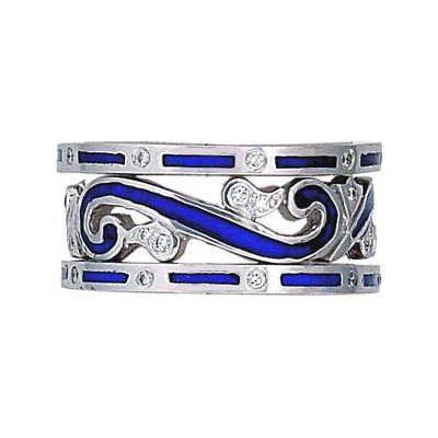 Hidalgo Stackable Rings Scrolls Collection Set (RR1184 & RR1083)