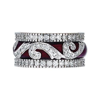 Hidalgo Stackable Rings Scrolls Collection Set (RR1118 & RR1083)
