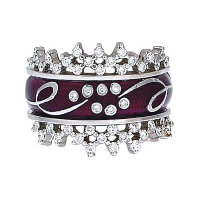 Hidalgo Stackable Rings Scrolls Collection Set (RS7786 & RS7929)