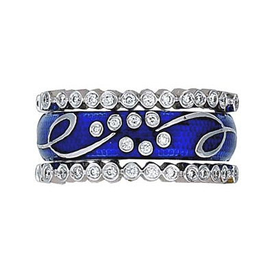 Hidalgo Stackable Rings Scrolls Collection Set (RS7786 & RS6467)