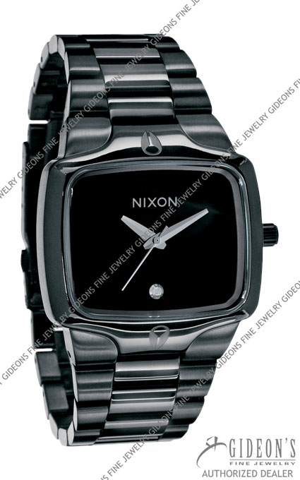 Nixon The Player All Black Quartz Watch A140-001