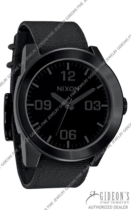Nixon The Corporal All Black Quartz Watch A243-001