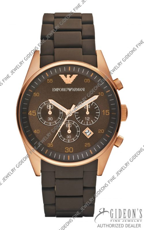 Emporio Armani Sportivo Quartz Chronograph Mens Watch AR5890
