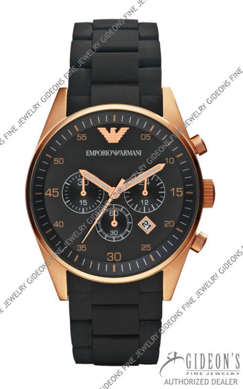 Emporio Armani Sportivo Quartz Chronograph Mens Watch AR5905