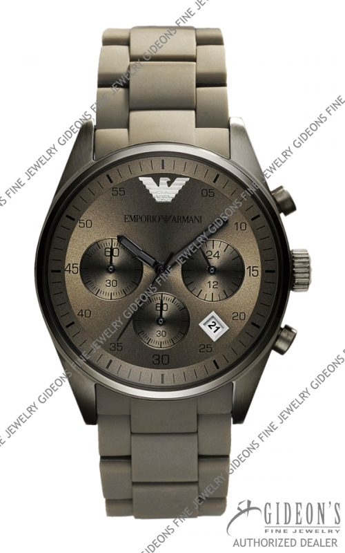 Emporio Armani Sportivo Quartz Chronograph Mens Watch AR5950