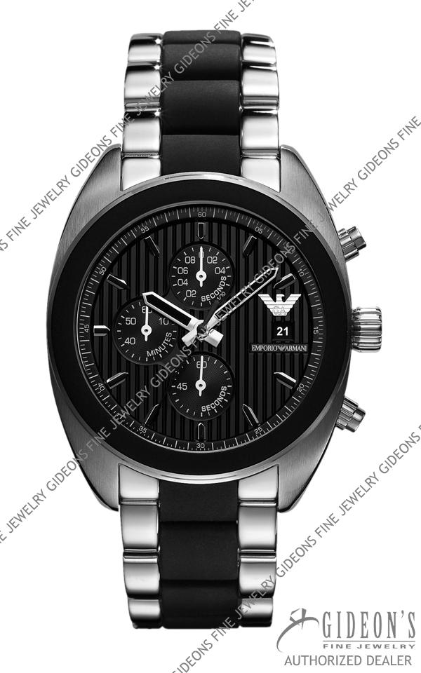 timeless design 6e27f a4411 Emporio Armani Sportivo Quartz Chronograph Mens Watch AR5952
