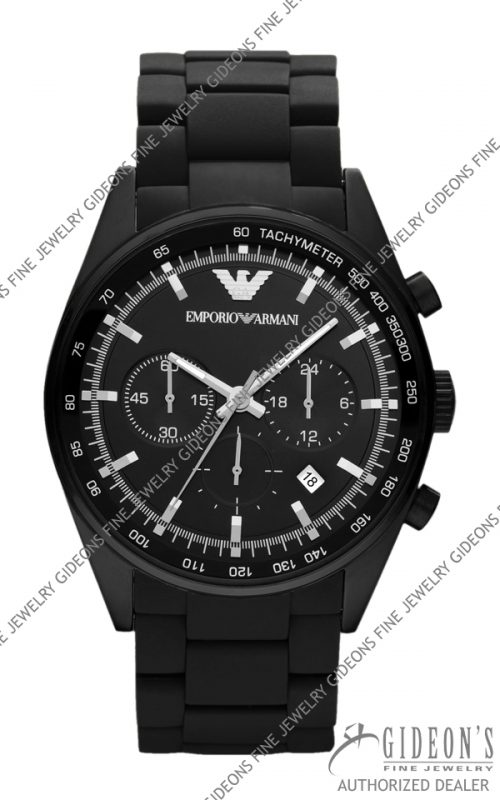 Emporio Armani Sportivo Quartz Chronograph Mens Watch AR5981