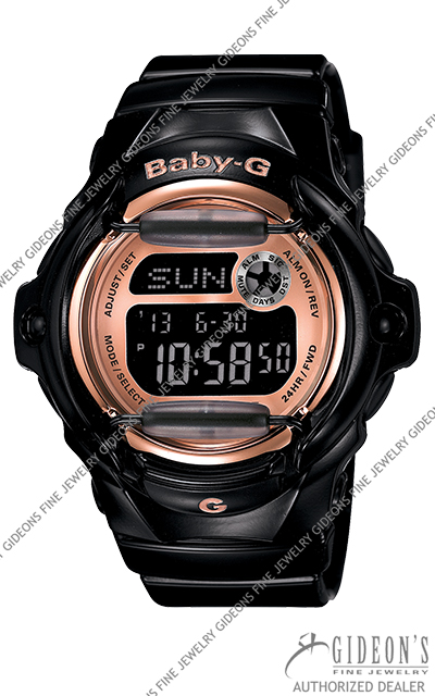 Casio Baby-G Black Series BG169G-1 Digital Quartz Watch