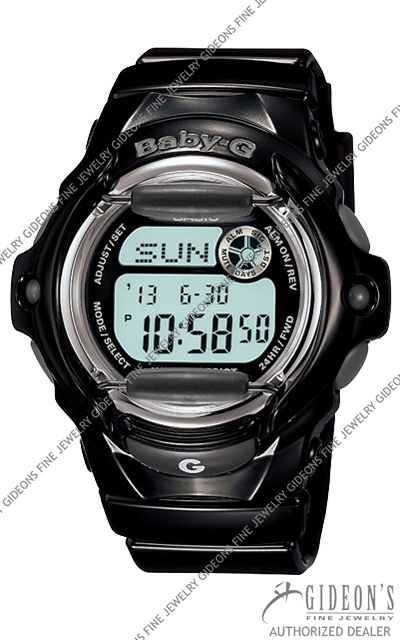 Casio Baby-G Black Series BG169R-1 Digital Quartz Watch