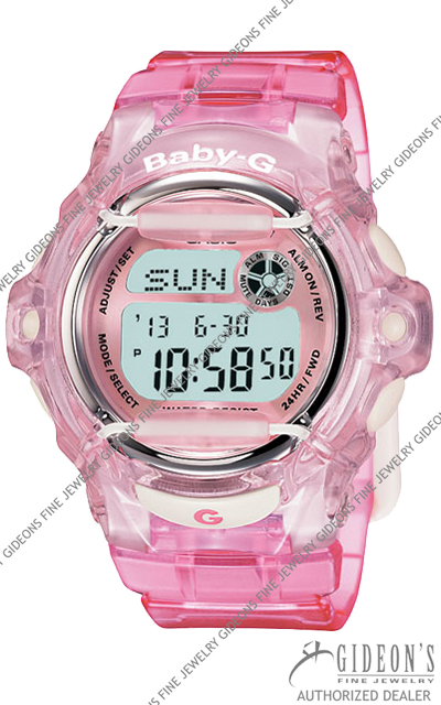 Casio Baby-G Pink Series BG169R-4 Digital Quartz Watch