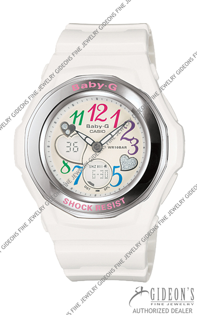 Casio Baby-G White Series BGA101-7B Quartz Watch