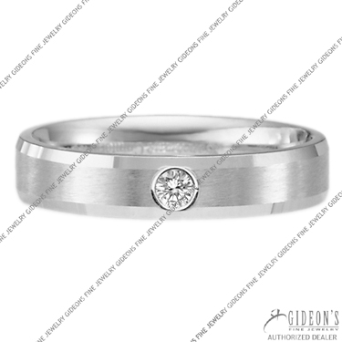 Benchmark Diamond Solitaire Bands CF524127 4 mm