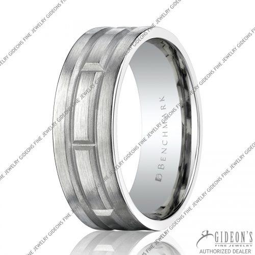 Benchmark Carved Bands CF68454 8 mm
