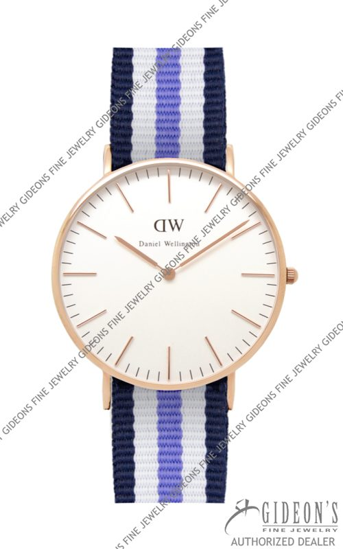 Daniel Wellington Classic Trinity Lady Rose Gold
