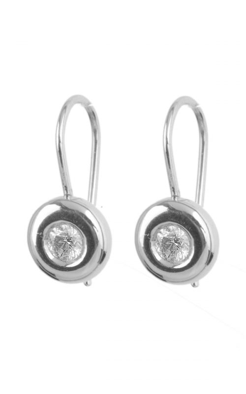 Gideon's Exclusive 14K White Gold Contemporary Earring