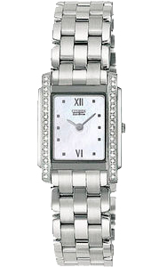 Citizen Stiletto Eco-Drive Diamond Quartz EG3050-56D