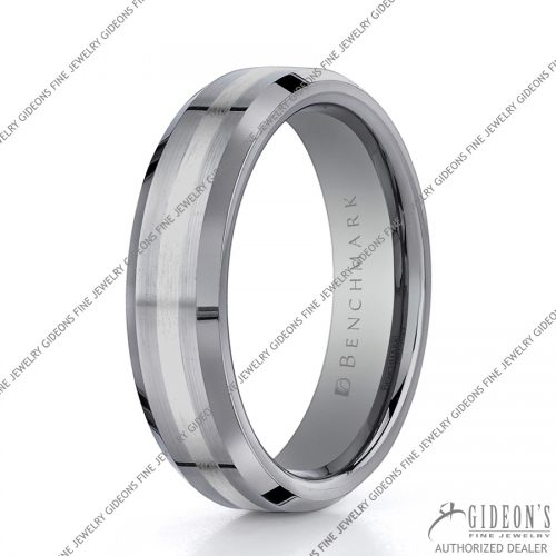 Benchmark Alternative Metal Tungsten Bands EWCF66426TG 6 mm