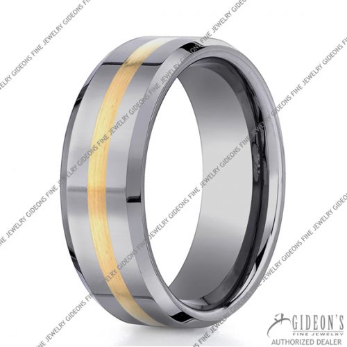 Benchmark Alternative Metal Tungsten Bands EYCF68426TG 8 mm