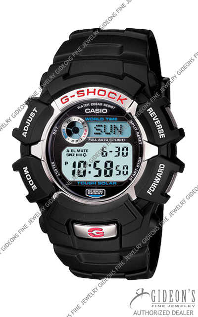 Casio G-Shock Classic G2310R-1 Digital Solar Quartz Watch