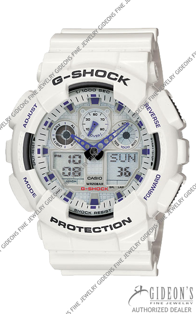 Casio G-Shock Classic GA100A-7A Digital Quartz Watch
