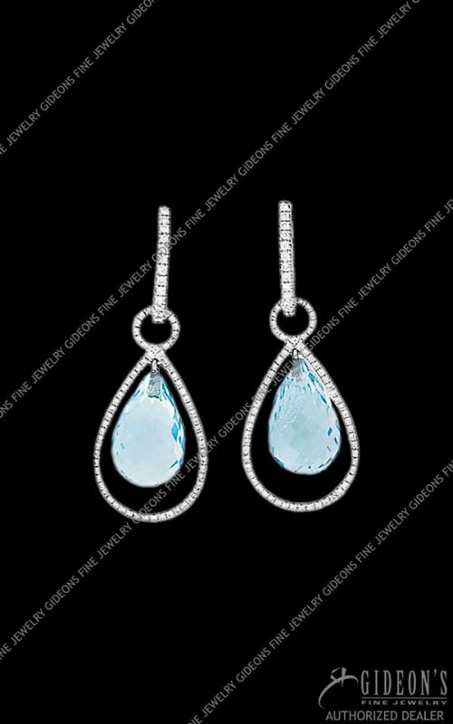 Hidalgo Interchangeable Drop Earrings (HDE9 & HDE.Teardrop)