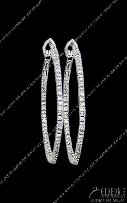 Hidalgo Hoop Earrings HDE3