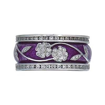 Hidalgo Stackable Rings Flowers Collection Set (RR1991 & RB5006)