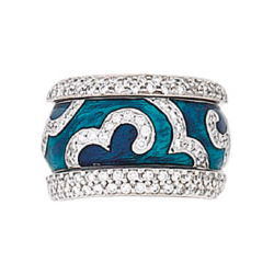 Hidalgo Stackable Rings Scrolls Collection Set (RR1323 & RR1303)